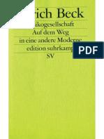 Beck, Ulrich – Risikogesellschaft. Auf dem Weg in eine andere Moderne.pdf