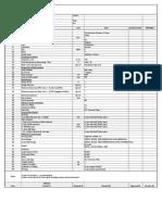 Strainer Datasheet