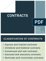 Chapter II - Classification of Contracts
