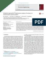 Abordagem ponderada para análise multivariada de variância na análise do sistema de medidas.