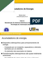 Aula 11 - Acumuladores de Energia