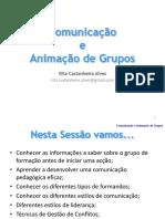 Apresentação Comunicação e Animação de Grupos.ppt