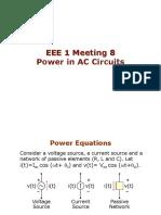 EEE 1 Meeting 8 - Power in AC Circuits.pdf
