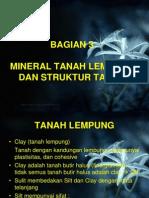 03 Mekanika Tanah - Tanah Lempung Dan Struktur Tanah