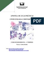Apostila de Aulas Práticas II - Citopatologia e Histoquímica