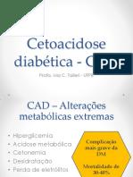 Cetoacidose Diabtica - CAD