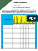 Lista de Cotejo - Cuarto y Segundoi Lenguaje y Ortografia Sj