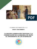 Nuevo Testamento Segunda Generación de Cristianos