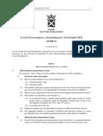 SPB074 - Local Governance (Amendment) (Scotland) Bill 2019