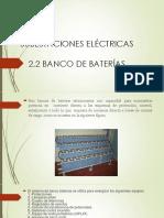 expocicion de bancode baterias