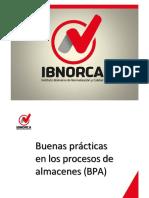 MODULO 5. Buenas Practicas en Los Procesos de Almacenes Bajo Normas