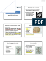 PopMed Epidemiology of Stroke