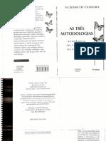 As três metodologias- acadêmica, da ciência e da pesquisa - Elizabeth Teixeira.pdf