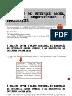 Minicurso Habitacoes de Interesse Social