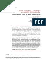 Desenho Universal Para a Aprendizagem