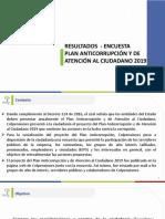 Plan Anticorrupcion y de Atencion Al Ciudadano 2019