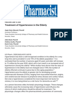 Treatment of Hypertension in the Elderly