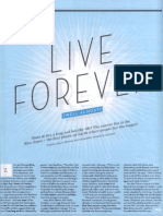 Live Forever - Why Adventists Live Longer