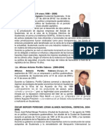 PRESIDENTES DE GUATEMALA 1996 - 2020.docx