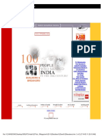 India Today 100 People Bu