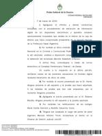 El escrito en el que Ramos Padilla detalla las imputaciones a Stornelli