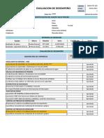 Evaluación de Desempeño - Ventilador - Iv100