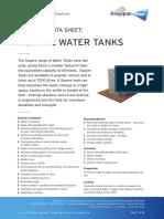 inlet water tank
