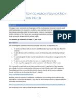 Foundation Consultation Paper v1.1  (1st April 2019)