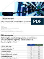 Why Lean Cant Succeed Without Operational Discipline