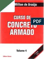 Curso de Concreto Armado - Jose Milton de Araujo - Volume 4.pdf
