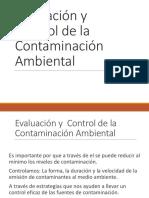 C1 Evaluación y Control de La Contaminación Ambiental