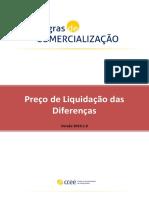 Preço de liquidação das diferenças
