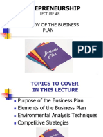Business Plan Overview Lesson 8.pptx