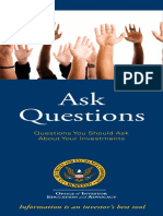 Sec Questions Investors Should Ask