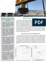 Static Load Test Service Details