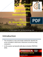 Practical App in EE 03 - Lecture 02 - Proteus 01