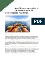 Aspectos Logísticos Trasnporte Marítimo