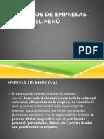 Tipos de Empresa- Gestion