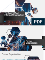 The Formal and Informal Organization