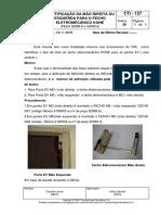 Cti - 127 Identificação Da Mão Direita Ou Esquerda Para o Fecho Eletromecanico Kone