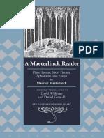 Maeterlinck, Maurice - A Maeterlinck Reader (Lang, 2011).pdf