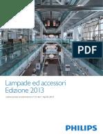 Philips - Lampade Accessori Listino - 2013