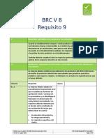 Requisito 9 BRC V8