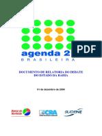 Agenda 21 Bahia Relatoria Debates