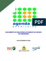 Agenda 21 Maranhão Relatoria Debates