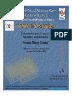 Curso STAAD PRO V8i básico Minería febrero 2011.pdf