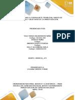 Unidad 2 Paso 3 - Formular El Problema, Marco de Referencia y Objetivos de La Investigación.