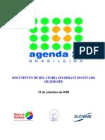 Agenda 21 Sergipe Relatoria Debates