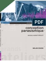 1. Conception Parasismique. Niveau Avant-Projet, Milan ZACEK.pdf