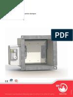 Smoke Control Dumpers _ VU120 Product Brochure En